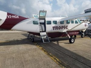plane transfers tropic air belize