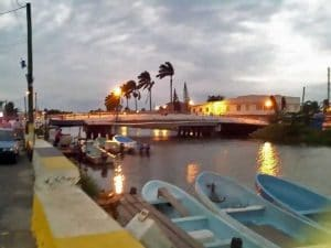 dangriga town bridge