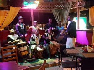 drumming in belize hopkins village